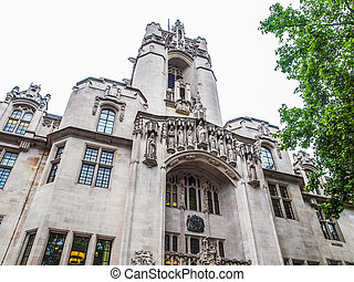 Supreme Court London HDR - High dynamic range HDR The...