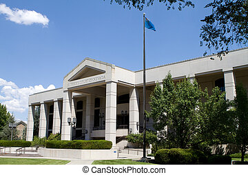 Supreme Court Of Nevada - Supreme Court of Nevada building...