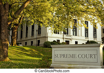 Supreme court - Connecticut Supreme court building in...