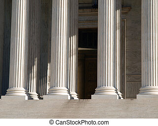 Supreme Court Pillars