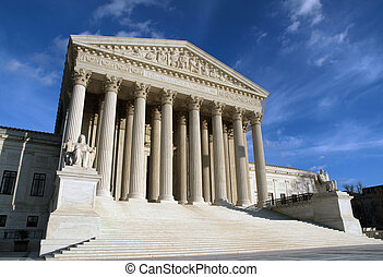 Supreme Court - The Supreme Court building in Washington DC...