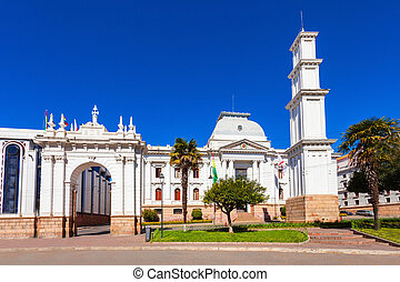 Supreme Court Of Bolivia In Sucre is located in Sucre, the constitutional capital of Bolivia