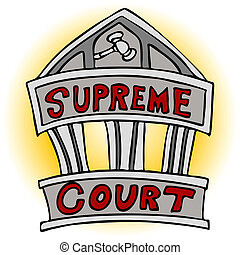 Supreme Court - An image of the supreme court building.