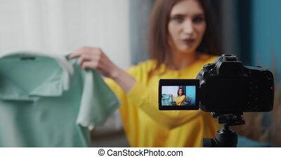 sur, appareil photo, advices, mode, blogger, populaire, ...