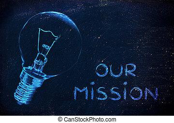sur, brillant, mission:, communiquer, idées, notre, company'...