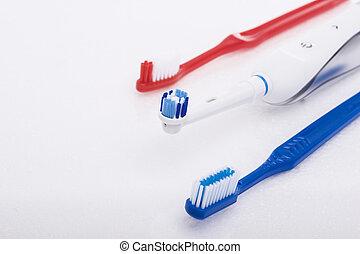 sur,  hygiène, produits, blanc,  oral, dentaire