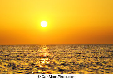 sur, Levers de Soleil,  océan