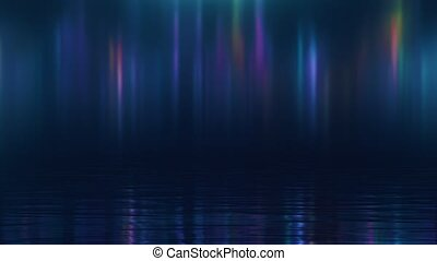 sur, lumières, nord, résumé, eau