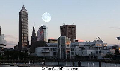 sur, pleine lune, cleveland