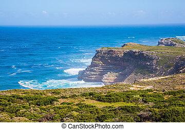 surf, atlantico, potente, oceano
