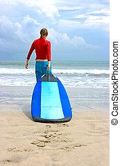 Surf beginner