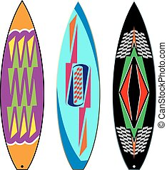 Surf Board Graphics, Stripe : Vinyl Ready