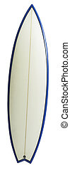 surf board - stock image of the surfboard with clipping path