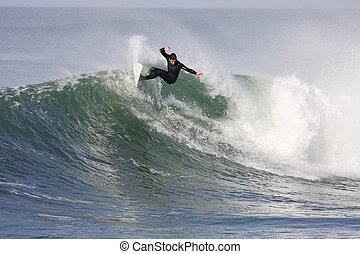 surf, onda