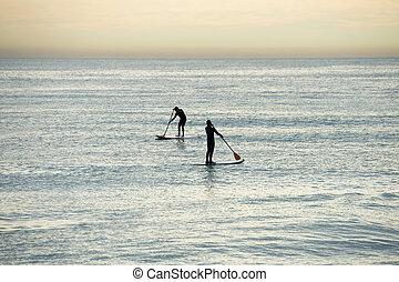 surf, pagaia