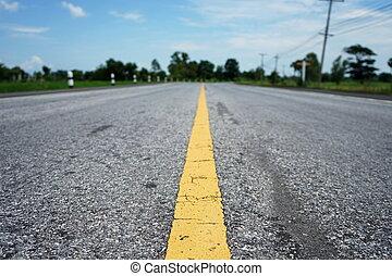 surface, asphaltez route