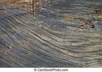 Surface eroded by time, Old wood background.