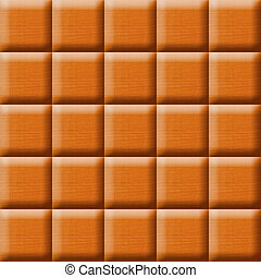 surface from wooden tiles