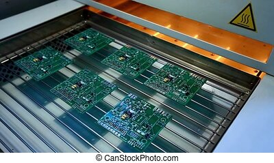 Surface Mount Technology (Smt) - Machine places elements on...
