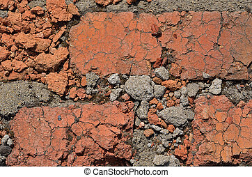 Surface of brickwork 2