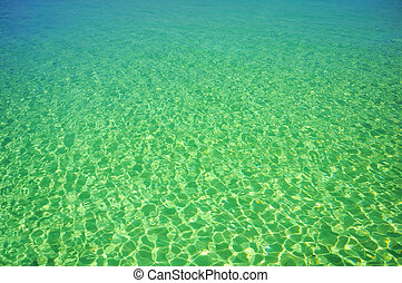 surface of ocean  - Picture of surface of ocean at Maldives