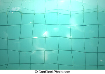 Surface of the pool