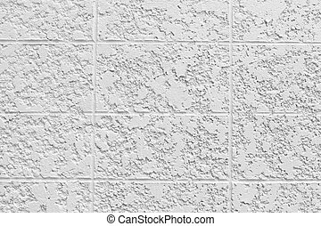 surface of white cement wall.
