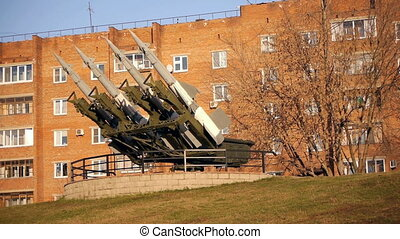 Surface-to-Air Missile System at Military Museum