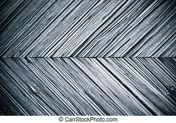 Surface with dark wooden planks