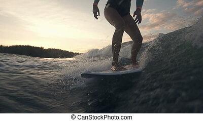 surfar, cima