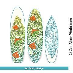 Surfboard Design Four
