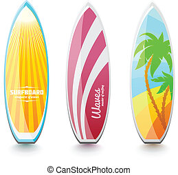 Surfboards for surfing
