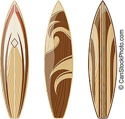 surfboards