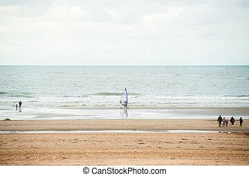 surfen, strand