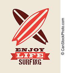 surfer, conception