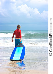 Surfer novice