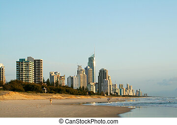 surfers, australia, paradiso