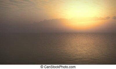 Surfers Dream Tropical Ocean Sunset