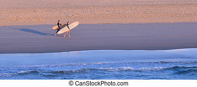 Surfers in Surfers Paradise Queensland Australia - GOLD...