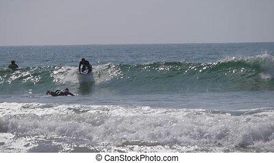 surfers on sea morocco 6
