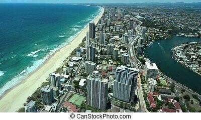 Surfers Paradise Australia - Surfers Paradise CBD in Gold...