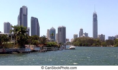 Surfers Paradise Skyline Queensland Australia 07 - GOLD...