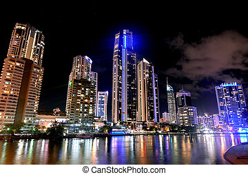Surfers Paradise Skyline -Queensland Australia - Surfers ...