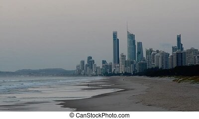 Surfers Paradise Skyline Queensland Australia - Surfers...