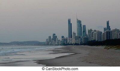 Surfers Paradise Skyline Queensland Australia - Surfers...