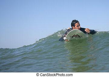 surfing, człowiek