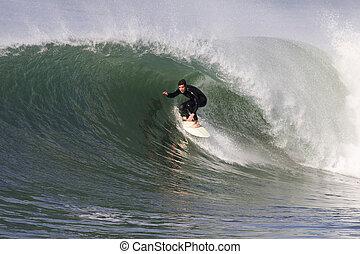 surfing, golf