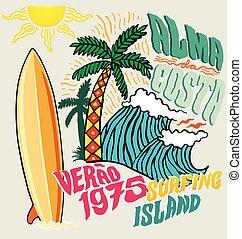 surfing island