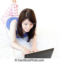 surfing mulher, internet