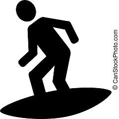 surfista, ícone